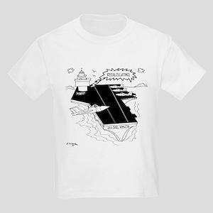 Navy Cartoon 9507 Kids Light T-Shirt