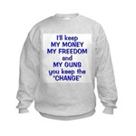 Keep the Change Kids Sweatshirt