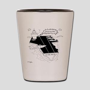 Navy Cartoon 9507 Shot Glass