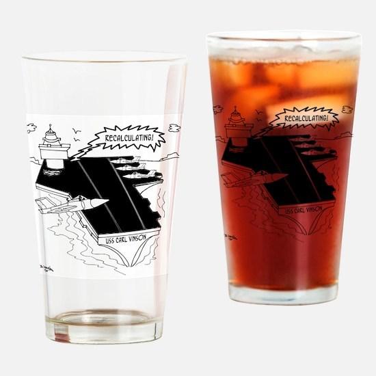 Navy Cartoon 9507 Drinking Glass
