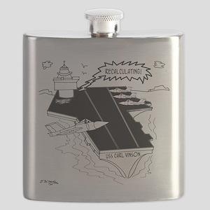 Navy Cartoon 9507 Flask