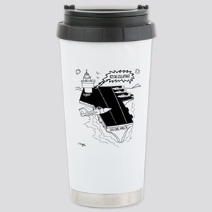 Navy Cartoon 9507 Stainless Steel Travel Mug