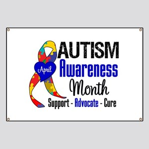 Autism Awareness Month Banner