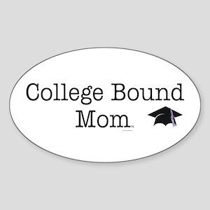 College Bound Parent Oval Sticker