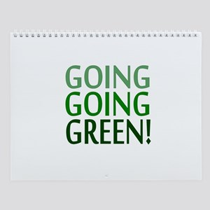 GO GREEN Wall Calendar