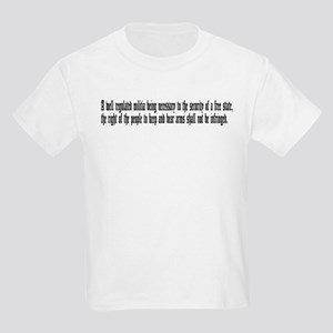 second amendment Kids Light T-Shirt