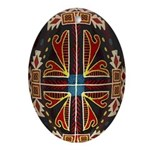 Beautiful Tromp L'oeil Pysanka Easter Egg
