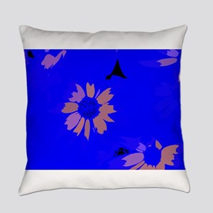 Glowing Petals Everyday Pillow