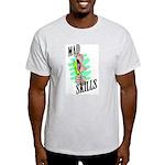Mad Skills Ash Grey T-Shirt