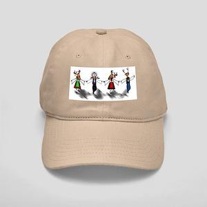 Greek Dancing Reindeer Cap