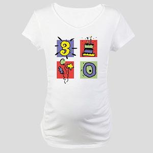 Color Block 30 Maternity T-Shirt
