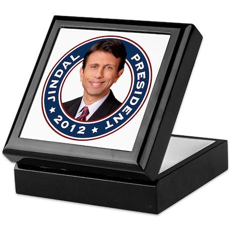 Bobby Jindal President 2012 Keepsake Box