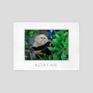 Monkey_roatan 5'x7'area Rug