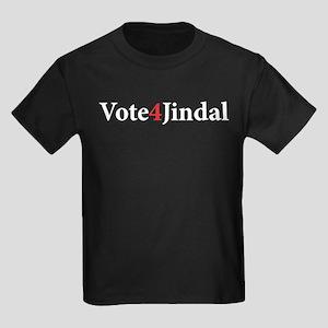 Vote 4 Jindal Kids Dark T-Shirt