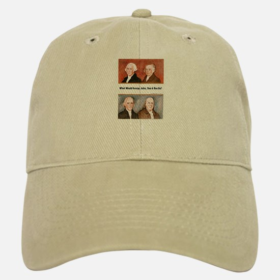 What Would They Do? Baseball Baseball Cap