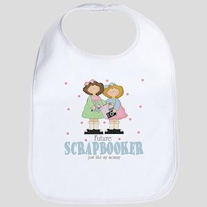 Future Scrapbooker like Mommy Baby Infant Bib