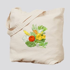Vegetables - Be Green Tote Bag
