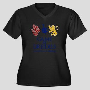 Game of Dreidels Plus Size T-Shirt