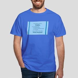 Towel Usage - Dark T-Shirt