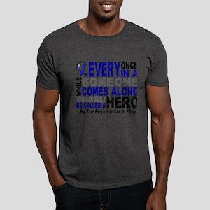 HERO Comes Along 1 Best Friend CC Dark T-Shirt