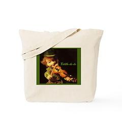 The Irish Fiddler Tote Bag