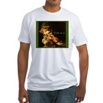 The Irish Fiddler Fitted T-Shirt