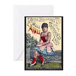 Tattooed Lady Aimee Vintage Advertising Print Gree