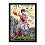 Tattooed Lady Aimee Vintage Advertising Print Post