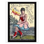 Tattooed Lady Aimee Vintage Advertising Print Smal