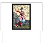 Tattooed Lady Aimee Vintage Advertising Print Yard