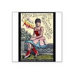 Tattooed Lady Aimee Vintage Advertising Print Stic
