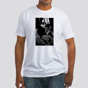 On Lead Guitar - Fitted T-Shirt