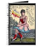 Tattooed Lady Aimee Vintage Advertising Print Jour