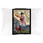 Tattooed Lady Aimee Vintage Pillow Case