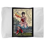 Tattooed Lady Aimee Vintage Pillow Sham