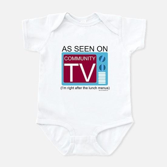 Community TV Infant Bodysuit