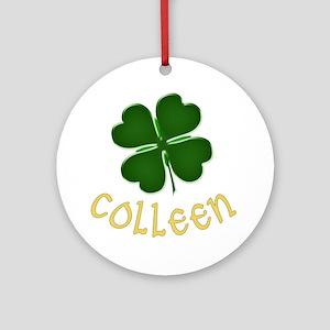 Colleen Irish Ornament (Round)