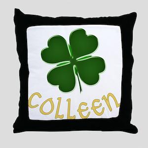Colleen Irish Throw Pillow