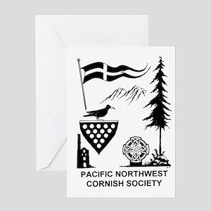 Cornish Society Greeting Card