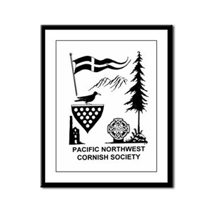 Cornish Society Framed Panel Print
