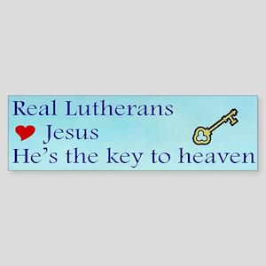 Jesus the Key to Heaven Bumper Sticker
