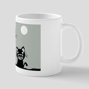 Creepy Kitty Mug
