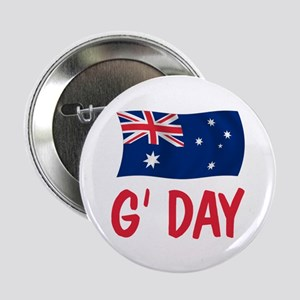 "Australian G'Day 2.25"" Button"