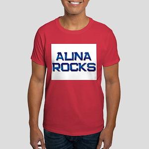 alina rocks Dark T-Shirt