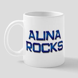 alina rocks Mug