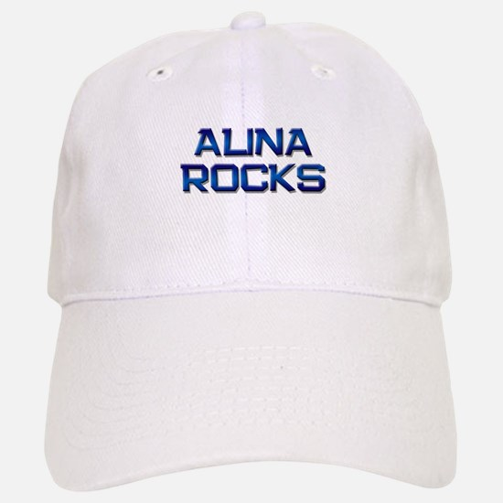 alina rocks Baseball Baseball Cap