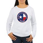 Texas Flag OES Women's Long Sleeve T-Shirt