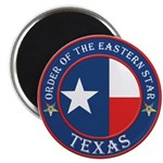 Texas Flag OES Magnet