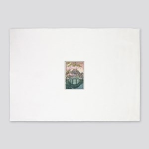 Cool Oriental Asian Art Masterpiece 5'x7'Area Rug