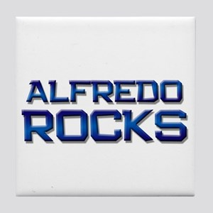 alfredo rocks Tile Coaster